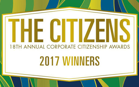 Antis Roofing WINS 2017 US Chamber Corporate Citizenship Award in the Best Corporate Steward, Small and Mid-Sized Market Business Category
