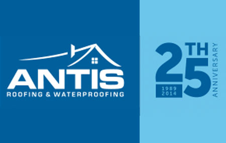 Antis Celebrates 25 Years In the California Roofing Industry with New Website, New Logo, and New Location