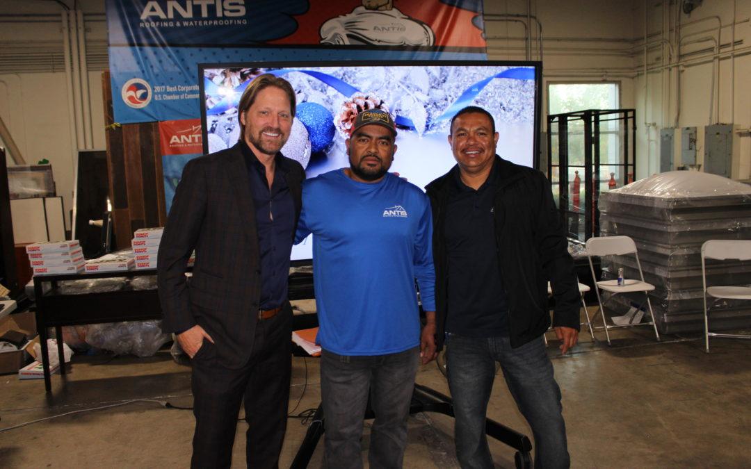 Luis Martinez, Roofing Technicians