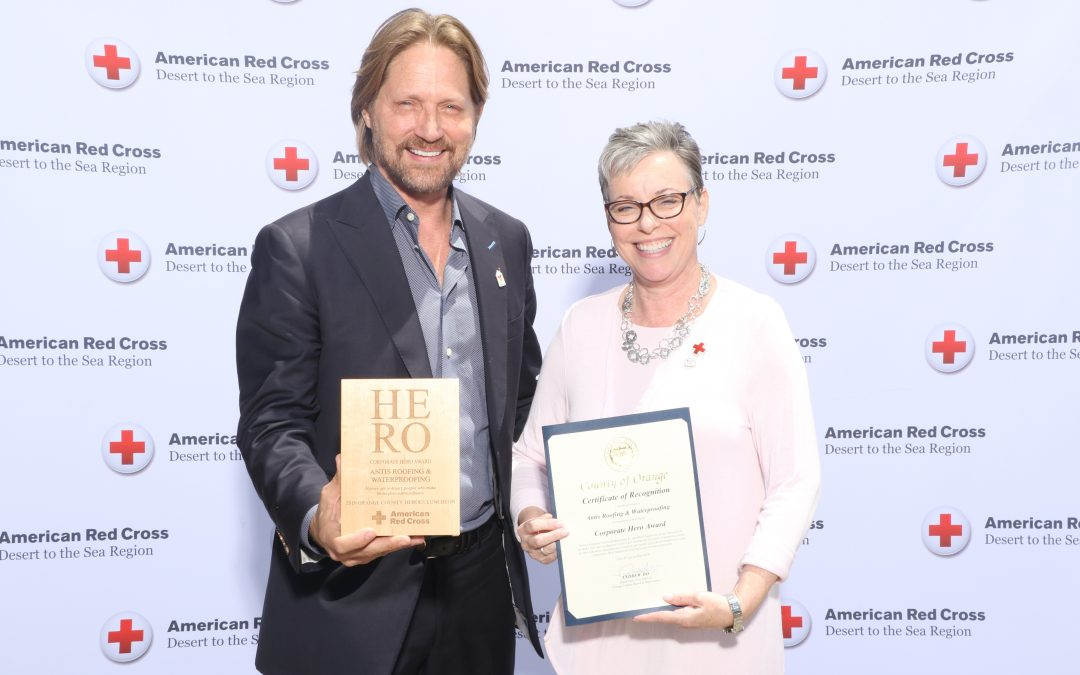American Red Cross Honors Antis Roofing with 2019 Corporate Hero Award