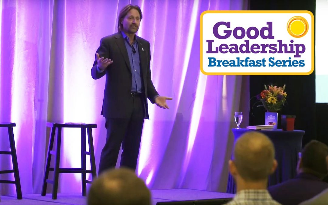 Charles Antis at Good Leadership Breakfast