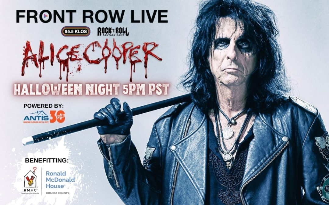 "Antis Roofing Teams with KLOS-FM for ""Front Row Live"" with Alice Cooper Halloween Night"