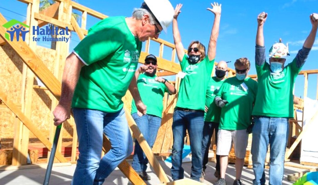 Antis Roofing Takes on Habitat for Humanity's Leaders Build Challenge 2020